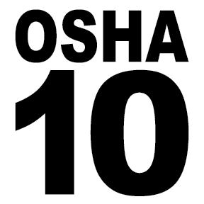 Completed OSHA 10